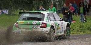 Esapekka Lappi / Janne Ferm, ŠKODA Fabia R5, Printsport Oy. AutoGlym Ralli 2016