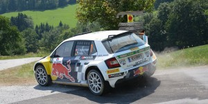 Raimund Baumschlager / Thomas Zeltner, ŠKODA Fabia R5, Baumschlager Rallye & Racing Team. Rallye Weiz 2015