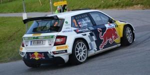 Raimund Baumschlager / Thomas Zeltner, ŠKODA Fabia R5, BRR Baumschlager Rallye & Racing. Rallye Weiz 2016 (Photo: BRR / Harald Illmer)