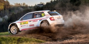 Matthias Kahle / Christian Doerr, ŠKODA Fabia R5, Kahle Motorsport. Rallye Šumava 2016