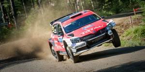 Hubert Ptaszek / Maciek Szczepaniak, ŠKODA Fabia R5, THE PTOCK. Rally Finland 2016
