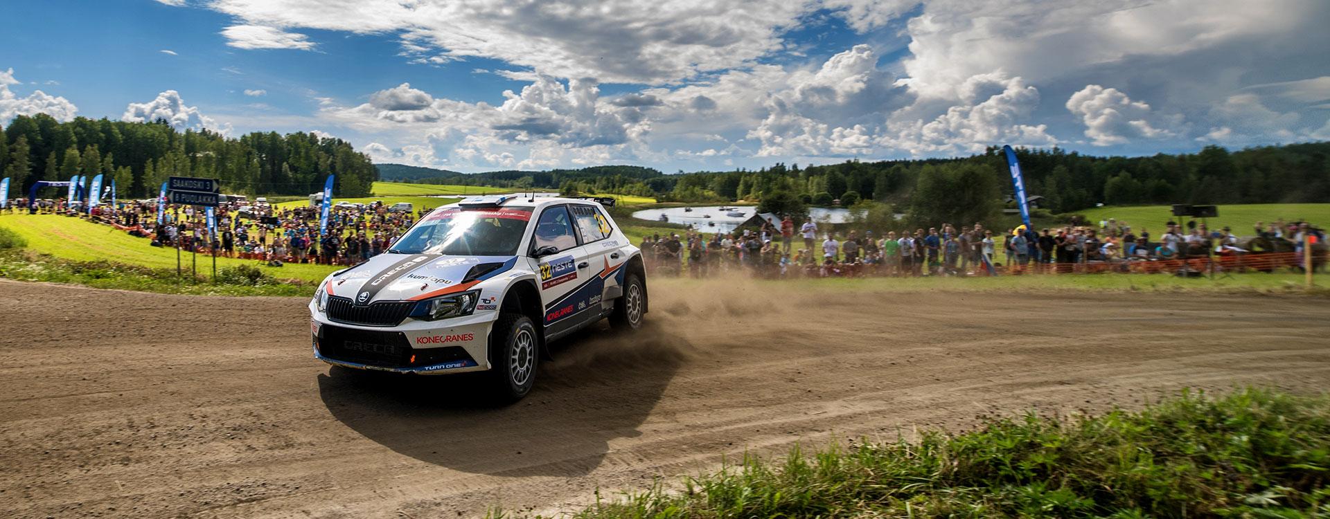 WRC Finsko: Teemu Suninen se přiblížil vedoucímu muži šampionátu
