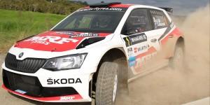 Gaurav Gill / Glenn MacNeall, ŠKODA FABIA R5, Team MRF. Rally Whangarei 2016