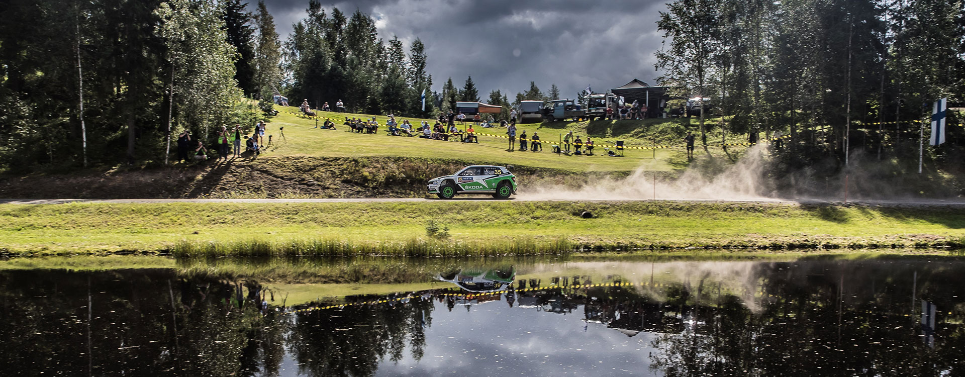 VIDEO: ŠKODA Motorsport na Finské rally