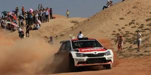Fabian Kreim / Frank Christian, ŠKODA FABIA R5, Team MRF. APRC China Rally Zhangye 2016
