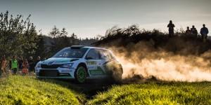 Pontus Tidemand / Jonas Andersson, ŠKODA FABIA R5, ŠKODA Motorsport. Rally Šumava 2016