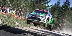 Esapekka Lappi/Janne Ferm, ŠKODA FABIA R5, ŠKODA Motorsport. Rally Finland 2016