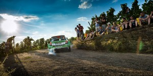 Jan Kopecký / Pavel Dresler, ŠKODA FABIA R5, ŠKODA Motorsport. Rally Deutschland 2015