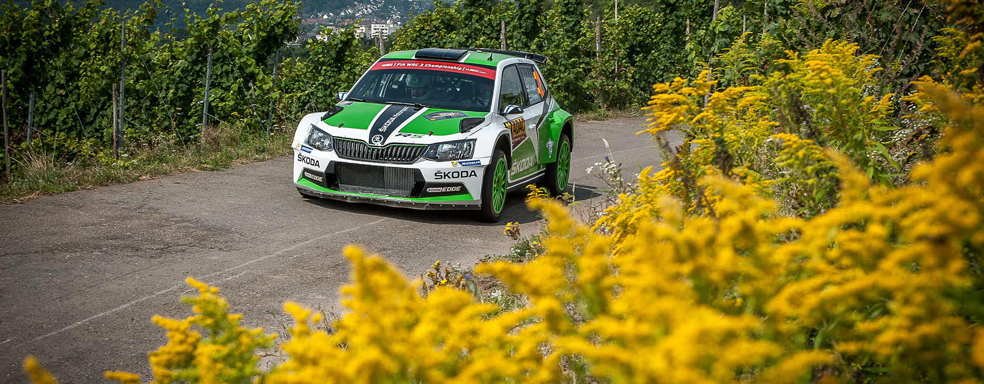PHOTO: ŠKODA Motorsport at the Rallye Deutschland 2016