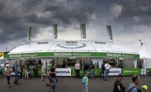 ŠKODA FABIA R5, Škoda Motorsport. ADAC Rallye Deutschland 2016