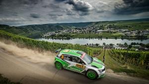 Jan Kopecký / Pavel Dresler, ŠKODA FABIA R5, ŠKODA Motorsport. Rallye Deutschland 2016