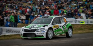 Pontus Tidemand / Jonas Andersson, ŠKODA FABIA R5, Škoda Motorsport II. ADAC Rallye Deutschland 2016