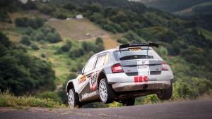 Edwin Schilt / Lisette Bakker, ŠKODA FABIA R5, Wevers Sport. ADAC Rallye Deutschland 2016