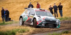 Ghislain de Mevius / Johan Jalet, ŠKODA FABIA R5, Ghislain de Mevius. ADAC Rallye Deutschland 2016