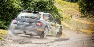 Mark van Eldik / Harmen Scholtalbers, ŠKODA FABIA R5, Wevers Sport. ADAC Rallye Deutschland 2016