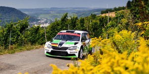 Fabian Kreim / Frank Christian, ŠKODA FABIA R5, Škoda Auto Deutschland. ADAC Rallye Deutschland 2016