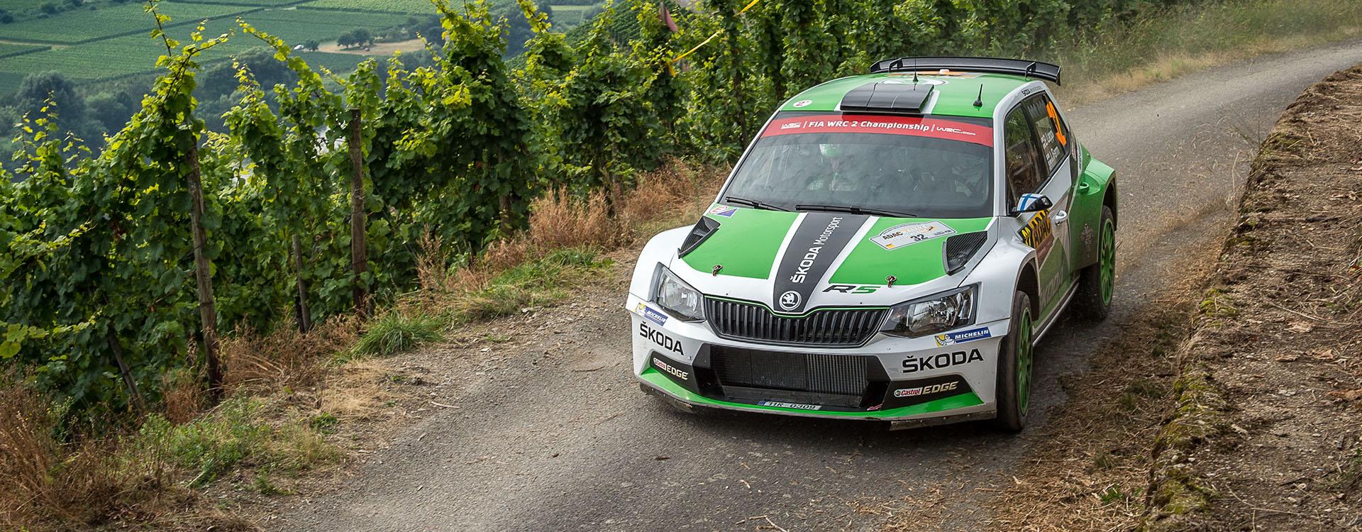 VIDEO: ŠKODA Motorsport na Rallye Deutschland 2016