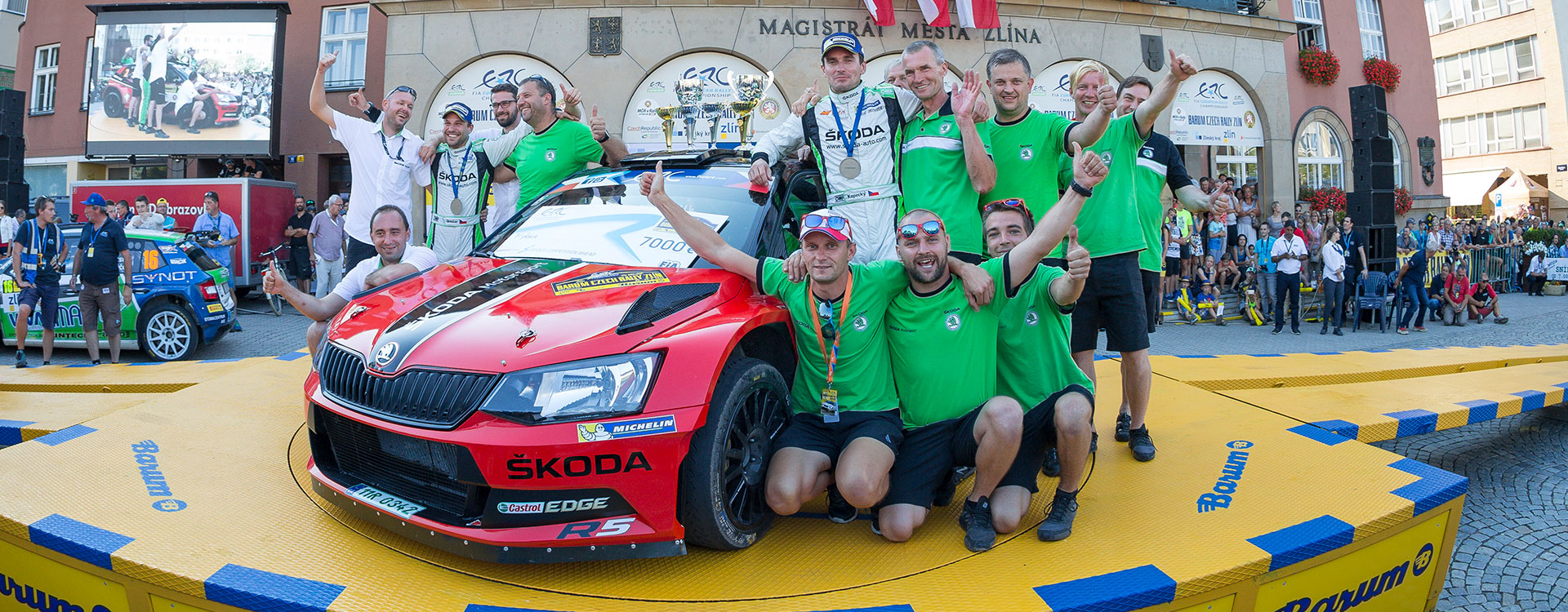 Barum Rally 2016: Kopecký defends title in the Czech Rally Championship