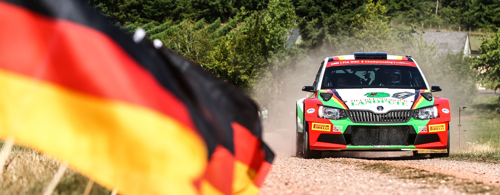 WRC Germany:Strong contingent of ŠKODA FABIA R5 cars entered