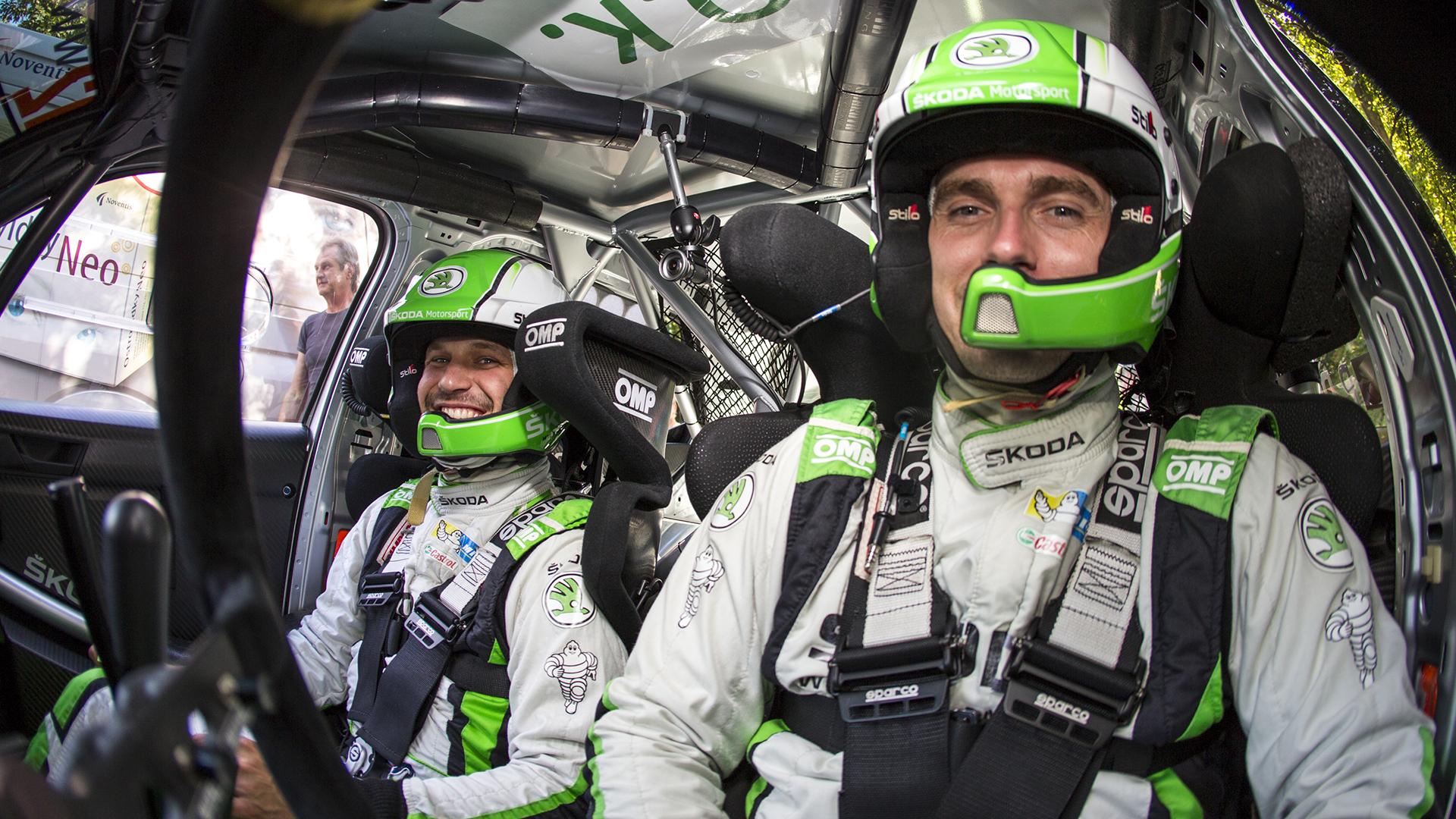 Řiďte jako profík: Jak sedět jako rally jezdec?