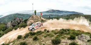 Abdulaziz Al-Kuwari/Killian Duffy, ŠKODA Fabia R5, CAulture & Sport Qatar Rally Team. Rally de Portugal 2016