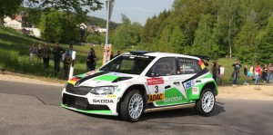 Fabian Kreim / Frank Christian, ŠKODA FABIA R5, Škoda Auto Deutschland. Sachsen Rallye 2016