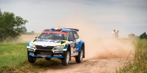 Julien Maurin / Olivier Ural, ŠKODA Fabia R5, Julien Maurin. Rally Poland 2016