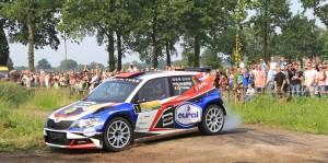 Bernhard ten Brinke / Davy Thierie, ŠKODA FABIA R5. ELE Rally 2016