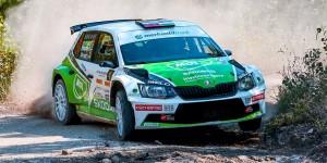 Norbert Herczig / Igor Bacigál, ŠKODA FABIA R5, BRR Baumschlager Rallye & Racing Team, Herczig Autósport. Székesfehérvár Rallye 2016