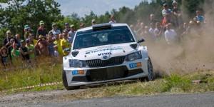 Tomáš Kostka / Ladislav Kučera, ŠKODA FABIA R5, BRR Baumschlager Rallye & Racing Team. Rally Agropa 2016