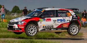 Antonín Tlusťák / Ladislav Kučera, ŠKODA FABIA R5, Tlusťák Racing. Ypres Rally 2016