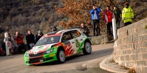 Armin Kremer / Pirmin Winklhofer, ŠKODA FABIA R5, BRR Baumschlager Rallye & Racing Team. Rallye Automobile de Monte-Carlo 2016