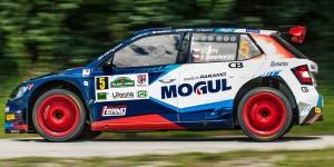 Jan Černý / Petr Černohorský, ŠKODA FABIA R5, Mogul Team Racing. Rally Lubeník 2016