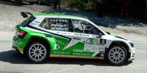 Péter Ranga / Botond Csányi, ŠKODA FABIA R5, Topp Autó 2010 Kft. Rally Baranya Kupa 2016 (Photo: Krisz Vegh)