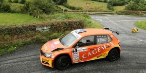 David Bogie / James O'Reilly, ŠKODA FABIA R5, CA1 Sport. John Mulholland Motors Ulster Rally 2016