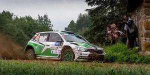Ralfs Sirmacis / Arturs Šimins, ŠKODA FABIA R5, Sports Racing Technologies. auto24 Rally Estonia 2016