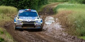 Julien Maurin / Olivier Ural, ŠKODA FABIA R5. Rallye Terre de Langres - Haute Marne 2016