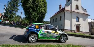 Tomáš Kostka / Ladislav Kučera, ŠKODA FABIA R5, Rufa Sport. Barum Czech Rally Zlín 2016