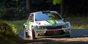 Fabian Kreim / Frank Christian, ŠKODA FABIA R5, ŠKODA AUTO Deutschland. Barum Czech Rally Zlín 2016