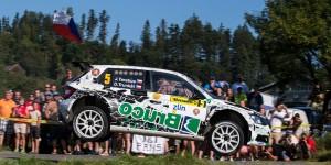 Jaromír Tarabus / Daniel Trunkát, ŠKODA FABIA R5, T&T Czech National Team. Barum Czech Rally Zlín 2016