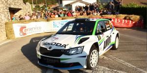 Albert von Thurn und Taxis / Bjorn Degandt, ŠKODA FABIA R5, Wevers Sport. Rally del Friuli Venezia Giulia 2016 (Photo: Acisport)