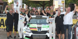 Fabian Kreim / Frank Christian, ŠKODA FABIA R5, ŠKODA Auto Deutschland. ADAC Rallye Niedersachsen 2016
