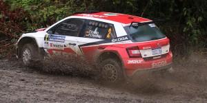 Fabian Kreim / Frank Christian, ŠKODA FABIA R5, Team MRF. Rally Hokkaido 2016