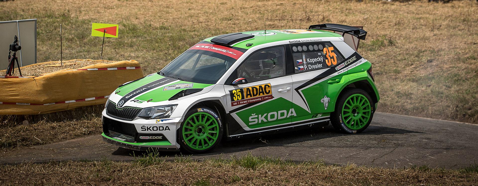 WRC Francie: Jan Kopecký chce na Korsice prodloužit úspěšnou sérii značky ŠKODA