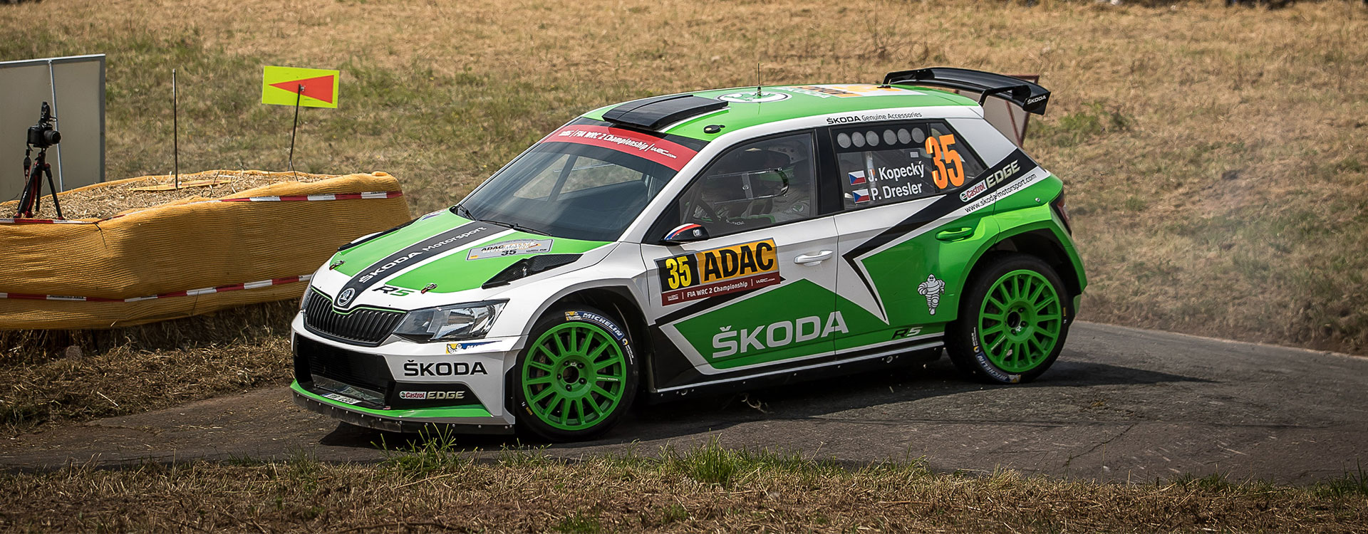 WRC France: Jan Kopecký aims to continue winning sequence for ŠKODA