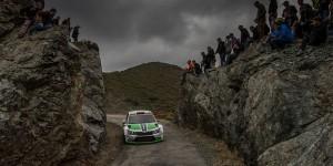 Pontus Tidemand / Emil Axelsson, ŠKODA FABIA R5, ŠKODA Motorsport. Tour de Corse - Rallye de France 2015