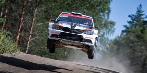 Teemu Suninen / Mikko Markkula, ŠKODA FABIA R5, Team Oreca. Neste Rally Finland 2016