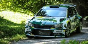 Sylvain Michel / Jérôme Degout, ŠKODA FABIA R5, Team 2C Yacco. Rallye Mont-Blanc Morzine 2016 (Photo: YACCO - Bastien Roux)