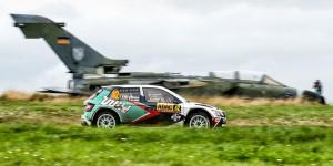 Ghislain de Mevius / Johan Jalet, ŠKODA FABIA R5. ADAC Rallye Deutschland 2016