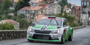 Esapekka Lappi / Janne Ferm, ŠKODA FABIA R5, ŠKODA Motorsport. Tour de Corse 2015